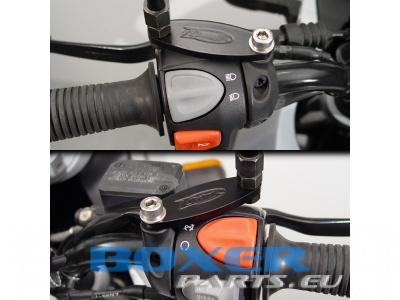adaptery dystansowe lusterek F650GS Dakar