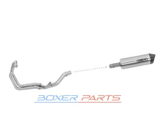 kolektor wydechowy F800GS Adventure exhaust pipe