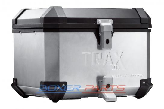 BMW GS 1200 kufer aluminiowy topcase SW-MOTECH TRAX ION 38L srebrny