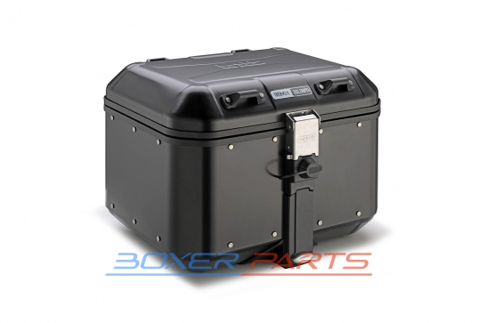 aluminiowy kufer górny 46L DOLOMITI GIVI czarny