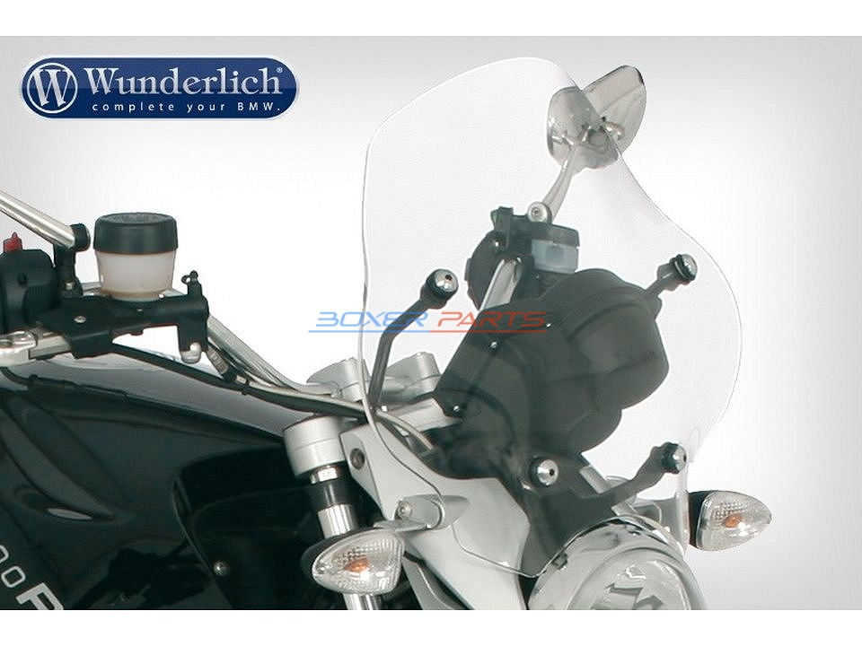 tourist windshield R1200R low grey 34,5cm