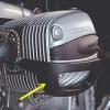 osłony pokryw głowicy R4V dwie świece na cylinder - komplet