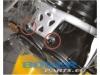 wsporniki szyby aluminiowe