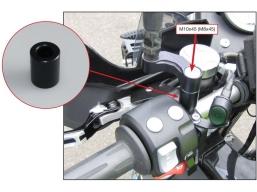 tulejki podnoszące adaptery lusterek
