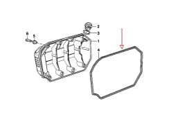 uszczelka pokrywy wału korbowego do K75
