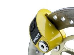 blokada tarczy hamulcowej z alarmem żółta 6mm