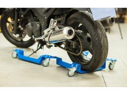 wózek do parkowania motocykla BMW pod koło lub stopkę centralną