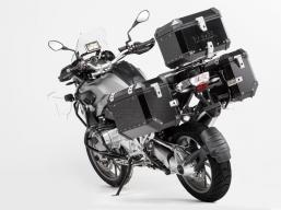 kufry aluminiowe TRAX 45 + 37 L zestaw CZARNY do R1200GS LC