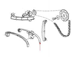 szyna łańcucha rozrządu K75-100-1100