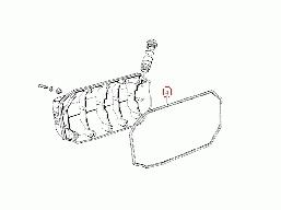 uszczelka pokrywy wału korbowego do K100