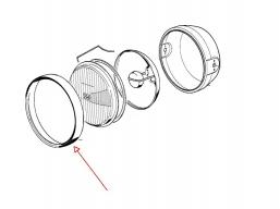 (-)ramka reflektora chromowana R1150 R1100 R100 R80 R65