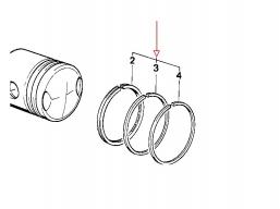 pierścienie tłokowe R65 nicasil kpl. na cylinder
