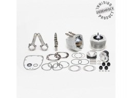 zestaw cylindrów z tłokami zwiększające moc i pojemność silnika BMW