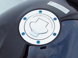śruby do wlewu paliwa BMW komplet 6 szt - niebieskie