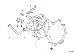 uszczelka pokrywy alternatora