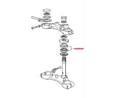 łożysko główki ramy z miseczką przeciwkurzową
