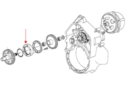 wole koło sprzęgło jednokierunkowe K1300 K1200 K1100 K100 K75 S1000