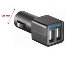 ładowarka USB 4,8 A do gniazda zapalniczki 12V