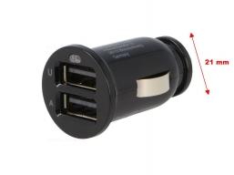 ładowarka podwójne USB 2,1 Ampera