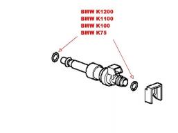 oring wtryskiwacza benzyny BMW