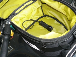 kabel 12V do torby na zbiornik z gniazdem zapalniczki