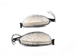 kierunkowskaz LED białe lewy + prawy