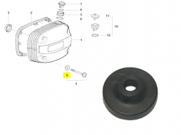 uszczelka śruby pokrywy zaworów BMW