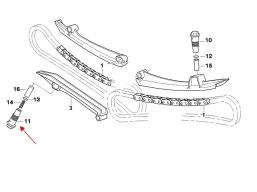 cylinderek napinacza łańcucha rozrządu do motocykla BMW