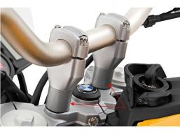 podwyższenie kierownicy F800GS F700GS F650GS o 25mm
