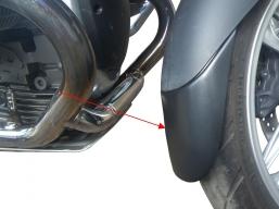 przedłużenie błotnika przedniego R1100S, R1150Rockster