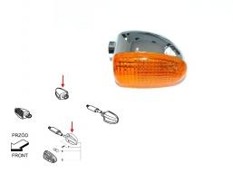 kierunkowskaz chromowany do BMW lewy przód prawy tył pomarańczowy