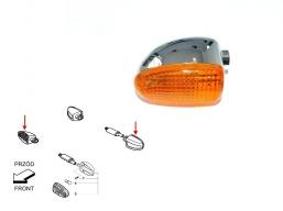 kierunkowskaz chromowany do BMW prawy przód lewy tył pomarańczowy