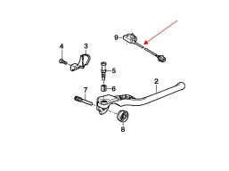 czujnik stopu przedniego hamulca BMW R1100 K1100