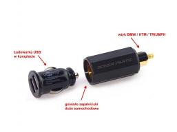 ładowarka USB z adapterem do gniazdka BMW