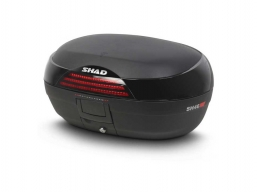 topcase SHAD 45L czarny + płyta uniwersalna