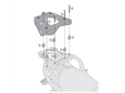 płyta MONOKEY pod topcase BMW R1200R R1200RS LC