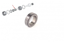 pierścień kompresyjny do przekładni w motocyklach BMW