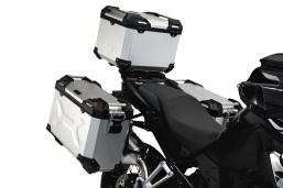 kufry aluminiowe TRAX ADV srebrne 3X do BMW R1250GS R1200GS Adventure