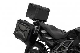 kufry aluminiowe TRAX ADV czarne 3X do BMW R1250GS R1200GS Adventure