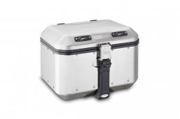aluminiowy kufer górny 46L DOLOMITI GIVI srebrny