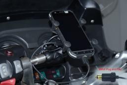 uchwyt telefonu z wtyczką BMW do K1600GT-L R1250RT R1200RT R1150RT