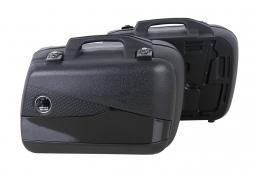 kufry Junior kolor srebrny lub czarny 40L - zestaw