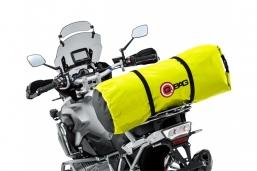 wodoszczelny worek podróżny 50L neon